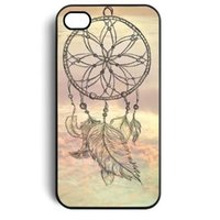 apple chase - Chasing The Dream Feather Pendant Hard Mobile Phone Case Cover For iPhone S S C Plus