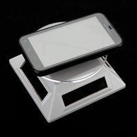 Wholesale New Black Rotating Solar powered Cell Phone Jewelry Watch Display Stand Turn Table Turntable Plate
