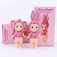 Wholesale Sonny Angel set kids toys gift plastic Kiss Mark Leopard PVC Action Figure Collectible Model Toy DHL