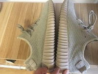 Cheap Re-Sale Kanye Boost 350 Oxford Tan Men's Women's kanye 350 boots Moonrock Turtle Dove Gray with Original Shoes Boxes SIZE 11.5