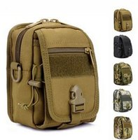 acu equipment - Men s Messenger Bags ACU Tactical Waist Bag Multifunctional Waist Pack Mobile Phone Bag Molle Pouch Accessory Military Equipment