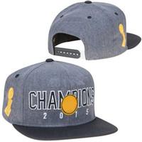 ball state baseball - Baseball Caps Golden State Basketball Cool Hip Hop Hats Gray Black Finals Champions Locker Room Snapback Hat