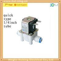 Wholesale Normally Closed quot BSPP Way Plastic Solar Solenoid Valve Water Valves V V Water