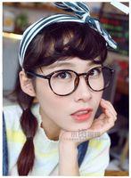 Wholesale 2015 Round Retro Korean Glasses Frames Wide Match Big Frame Modify OculosFeminino Eyeglasses