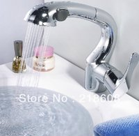 Wholesale Fashion Hot Newest Kitchen sinks faucet pull mixer pull down have sprayer pull out kitchen Faucets