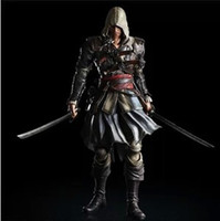 Wholesale new Assassin s Creed IV Black Flag Edward Kenway Cosplay Costume Whole Set Custom Made Express Shipping
