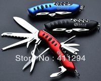Wholesale Multifunction Knife Folding Knife Outdoor Travel Hunting Camping Army Equipment Multi Tool Knife In