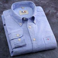 oxford shirts - 2015 hot selling camisas brand shirt new autumn fashion design mens casual shirts high quality men oxford stylish dress shirts