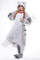 adult onesie - 2016 Cosplay Cheese cat Pajama No Shoes Pajamas Hooded Conjoined Sleepwear Costumes Adult Unisex Onesie Soft Sleepwear CC52
