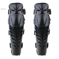 Wholesale Promotion New Motorbike Racing Motocross Knee Pads Motorcycle Protector Guards Protective Gear Black