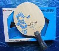 Wholesale Butterfly alc fiber table tennis blade zhang jike butterfly table tennis blade butterfly table tennis racket indoor sports