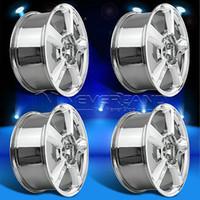 Wholesale 4PC Set for Chevrolet Avalanche Tahoe Suburban offset quot x8 quot Alloy Car Wheels Rim Chrome USA Stock