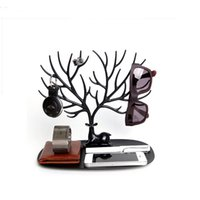 folding tray - Jewelry Display Tray My Little Deer Accessories Bracelet Storage Tree Shelf Stand Holder Organizer for Earrings Necklace Ring