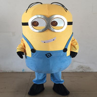 Wholesale Pack the postage all kinds of cartoon style despicable me servants mascot mascot costume clothing adult despicable me everyone wear god s