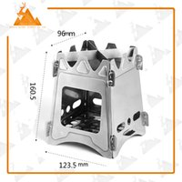 pellet stove - Rover Camel Stainless Steel Folding Wood Stove Portable Outdoor Camping Pellet Wood Stove
