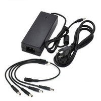 amp power splitter - AC DC US Power Adapter V Amp to Power Splitter for CCTV Security Camera