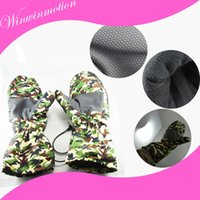 battery motorcycle gloves - Fashionable Camouflage winter Stay Warm Battery Outdoor Activitis Motorcycle heated usb gloves