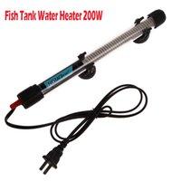 Wholesale Aquarium Fish Tank Water Heater W Submersible Pet Fish Tank US plug Water Heater Temperature