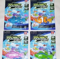 battery power toys - Magical Turbot Fish Robo Fish Kids Toy Electronic Sharks Swimming Robotic Fish Battery Powered Pet Robofish Christmas Gifts