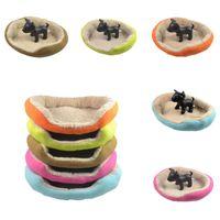 Wholesale 3PCS Puppy Cat Dog Bed Pet Nest Soft Warm Plush Dog Sleep Bed Luxury Kennel House Size S M L ZZE