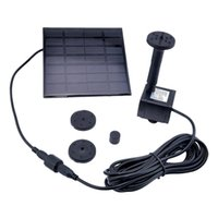 Wholesale Pool Water Pump Garden Plants Watering Kit Solar Panel Power Submersible Fountain Water Pump for Garden Pond