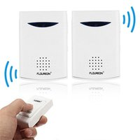 Wholesale Brand New Portable Twin Pack Wireless Cordless Door Bell Chime M Range Hot Search