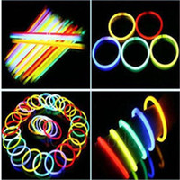 Wholesale Glow Sticks Fashion Party Colorful and PVC Light Sticks Hot Concert Waterproof and Environmental Protection Portable Glow Sticks Bracelets