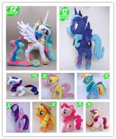 apples pies - My Princess Celestia Twilight Sparkle Rainbow Dash Apple Jack Rarity Fluttershy Pinkie Pie Little Cute Plush Unicorn Pony Toys Children Gift