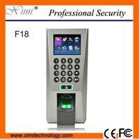 Cheap 3000 F18 Best 100000 XXM fingerprint time attendance