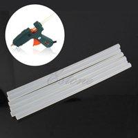 Wholesale Art Craft Repair Tool W Electric Heating Hot Melt Glue Gun Sticks Trigger mm Hot Melt Glue Sticks