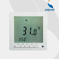 Wholesale Weekly Programmable Floor Heating Room Thermostat VAC SPC09 H3 A with m Cables