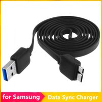 Wholesale Flat Noodle Micro USB Data Sync Charger Cable M ft Charging Cord Lead Adapter Noodle for Samsung S5 i9600 Note Note3 Note4 MQ100