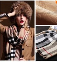 Wholesale High Quality Square Scarf Winter New Euro Fashion Classic Brand Women Scarf CM and CM B