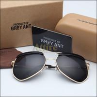 vintage fashion sunglasses - Aviator Sunglasses Brand Designer Retro vintage sunglasses lady Aluminium Alloy frame mirror lens Anomaly eyewear Fashion Sun Glasses