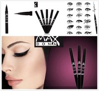 Wholesale Fantastic Lowest price Eyeliner Pencil Pencils Eye Kohl Black And Brown With Box