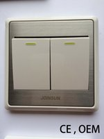 Wholesale JOINSUN CE factory outlets Wall panel switch CE OEM Subsection TWO