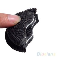 Wholesale Funny Close Up Magic Street Trick Biscuit Bitten And Restored Gimmick Cookie toy VLG