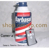 Wholesale Shaving Cream Hidden Camera Motion Detection Record GB