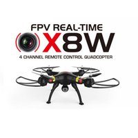 aerial photography video - SYMA X8W RC Helicopter Axis GYRO G Aerial Photography RTF FPV Quadcopter with WIFI Real Time Video MP HD Camera