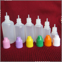 Wholesale Needle Bottle ml ml ml ml ml ml Soft Dropper bottles with CHILD Proof Caps Store most liquid E Vapor Cig Liquid DHL Free