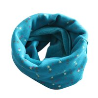 best baby scarves - Best Deal PC Cute New Winter Fashion Soft Print Boys Girls Collar Baby Scarf Thicken Cotton O Ring Neck Scarves Gift