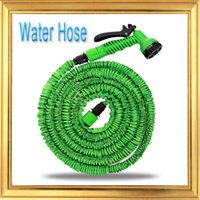 Wholesale Hot Expandable Flexible Plastic Hose Water Garden Pipe With Spray Nozzle For Car Wash Pet Bath Original FT FT FT FT DHL Free Ship