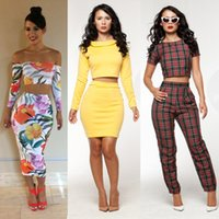 mini club dress - 2015 New Sexy Fashion Summer Women Two Piece Bodycon Bandage Dress Celebrity Club Party Flower Printed Mini Casual Dress Jumpsuit