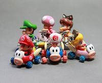 age mario - 2015 New Super Mario Baby Mini Mario Luigi Toad Princess Daisy Toadette PVC action figure Model toy Kids Gift