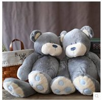 baby grizzly bear - New arrival cm Lovely panda big grizzly bears children doll baby plush toy doll