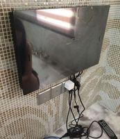 atsc hdtv tv - Brand NEW IP66 Waterproof Bathroom Mirror TV DVB T ATSC FreeView USB HDMI HDTV Colors Free drop shipping