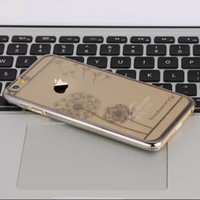 apple laser engraving - Clear Laser Engraving Dandelion Hard Plastic Snap PC Back Case Cover for iphone inch