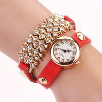 Wholesale Free DHLNew Fashion Watches Variety Of Colols Styles Imitation Reloj Mujer Wristwatch Rhinestone High Quality Luxury Gril s Gift