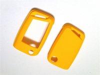 Wholesale Yellow Hard Plastic Keyless Remote Key Protection Case for VW Golf MK7 Remote Key