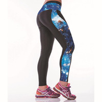 Wholesale New Multi Color Women D Print Leggings High Waist Gym Yoga Running Sports Pants